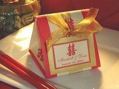 ASIAN CHINESE wedding origami favor boxes  any by shadow090109, $1.49