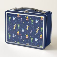 Whimsical Pattern Metal Lunch Box - home gifts ideas decor special unique custom individual customized individualized Tin Lunch Boxes, Metal Lunch Box, Disney Lunch Box, School Lunch Box, Disney Merchandise, Disney Fun, Lunch Time, Food Plating, Home Gifts