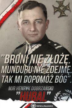 "Mjr Henryk Dobrzański "" Hubal"" Everything And Nothing, Retro, World War Ii, Honda, History, Poland, World War Two, Historia"