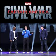 First Looks at Captain America: Civil War! We can't wait for this movie!