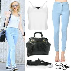 Perrie Edwards out shopping with her mom. August 30th, 2013 - photo: littlemix-news