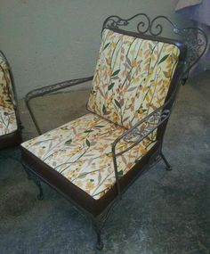 woodard orleans chair offered on ebay for vintage patio