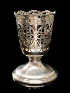 Authentic Tiffany & Co. Vintage Sterling Silver Vase Holder