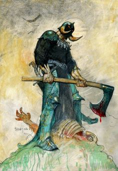 The Intense Art of Simon Bisley - Death Dealer and Jaguar God  Atomic Satyr Archives