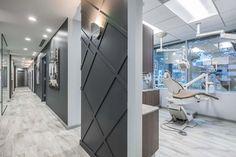 Bethesda Sedation Dentistry Hallway Design - All For Decorations Clinic Interior Design, Interior Design Portfolios, Design Offices, Modern Offices, Clinic Design, Salon Design, Work Office Design, Medical Office Design, Dental Design