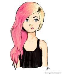 Risultati immagini per girl drawings tumblr easy