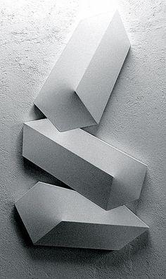 Charles Hinman | White Rise, 1974