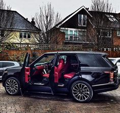New Small Luxury Car – Auto Wizard Range Rover Noir, Range Rover Schwarz, Range Rover Black, Best Luxury Cars, Luxury Suv, My Dream Car, Dream Cars, Range Rover Interior, M Bmw