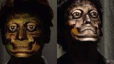 Face Hacking / Real-Time Face Tracking & 3D Projection Mapping http://www.youtube.com/watch?v=TGI4oz1QnZo