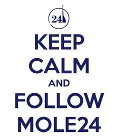 Keep calm and follow Mole24  http://www.mole24.it/