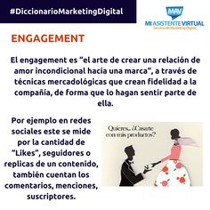 Hoy en nuestro #DiccionarioMarketingDigital hablaremos del concepto de Engagement...  #MarketingDigital #Emprendedores