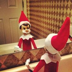 Elf on the Shelf Ideas by Joanne Banning