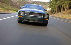 2008 Ford Mustang Bullitt special edition 2008 Ford Mustang, Ford Mustang Bullitt, Car, Automobile, Autos, Cars