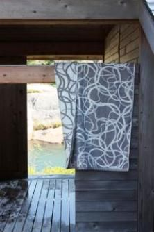Canadian-Finnish textile design company specializing in products for the home. Birches, Hanging Towels, Marimekko, Seas, Scandinavian Design, Textile Design, Finland, Cabins, Wave