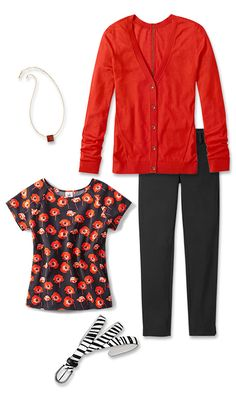 Check out five unique ways to mix and match the Flanders Top with other cabi items!