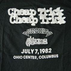 Cheap Trick ~ Krokus ~ Saxon ~ July 7th 1982 Columbus Ohio