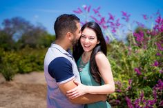 Engagement photo shoot at Balboa Park