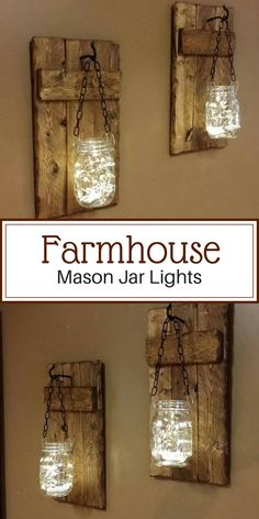 60 Ideas Diy Home Decor Rustic Living Room Mason Jars Candle Holders Rustic House, Decor, Rustic Diy, Diy Home Decor, Rustic Wood Candle Holders, Rustic Living Room, Rustic Candles Diy, Home Decor, Mason Jar Candle Holders