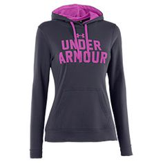 Get ready to conquer your workouts with the Women's Under Armour Battle Hoodie. Engineered for when the temps drop, this hoodie features 100% ultra-light Armour fleece that's smooth outside and brushed inside to trap heat in. No worries about ge