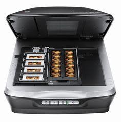 Scanneur diapos Epson pour scanner les diapositives et vieilles photos