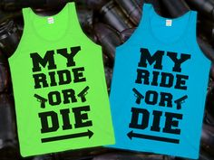 Ride or Die (Best Friends through Thick & Thin) | Lookhuman.com on Wanelo