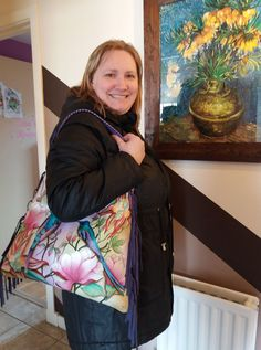 Our star prize winner has received her fabulous gift and is loving it.......
