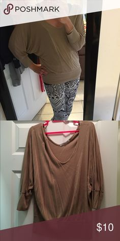 V neck top Banded waist v-neck blouse. From Charlotte Russe. Smoke free home! Charlotte Russe Tops Blouses