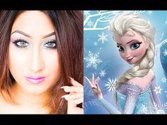 ♡ Elsa Inspired ♡ Makeup Look ♡ - YouTube