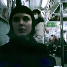 Daisy Dickinson is a London-based director and visual artist whose work involves experimental short film, music video, projected installation and live performance. This photograph was taken on a train in Osaka by Julia Laird whilst she and Dickinson were shooting their short film Soramimi. Visit www.daisydickinson.co.uk Osaka, Artist At Work, Art World, Short Film, Music Videos, Studios, Daisy, Train, Artists
