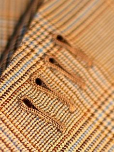 Hand stitched buttonhole by Made By Hand blog