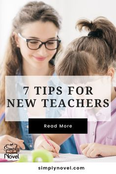7 Tips for New Teachers by Simply Novel. We know the ELA classroom, classroom organization and classroom management can be overwhelming for new teachers. Here are 7 new teacher tips and teacher hacks to help in your ELA classroom. Read the post. First Year Teachers, Parents As Teachers, New Teachers, Teacher Must Haves, Teacher Hacks, Best Teacher, Middle School Hacks, School Tips, Back To School