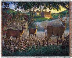 Deer in Field of Dreams
