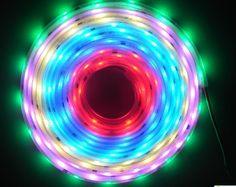 LED digital strip, with input,waterproof in silicon tube Led Light Strips, Led Strip, Led Garden Lights, Portable Desk, Babylon 5, Led Technology, Strip Lighting, Tube, Digital