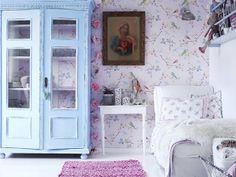 every girls dream bedroom. Scandinavian Interior Bedroom, Scandinavian Home, Dream Bedroom, Girls Bedroom, Bedrooms, Lavender Decor, Blog Deco, Little Girl Rooms, Kids Decor