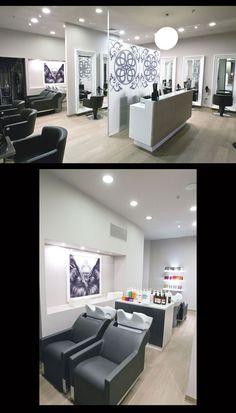Hair Salon Flair - Italy - Salon Design #SalonTrends