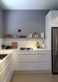 45 best kitchen backsplash ideas 2 - Kitchen - Home Sweet Home Farmhouse Style Kitchen, Rustic Kitchen, New Kitchen, Kitchen Dining, Kitchen Ideas, Farmhouse Sinks, Kitchen Hacks, Modern Farmhouse, Apartment Kitchen