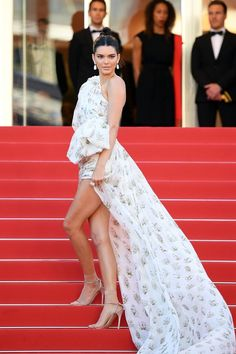 Kendall Jenner in Giambattista Valli Couture and Chopard jewels