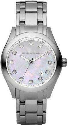 Michael Kors Quartz, Silver Stainless Band White Dial - Women's Watch MK5325 Michael Kors. $179.99. Round Stainless Steel Case. Steel Bracelet Strap. Analog Display. Water Resistance : 10 ATM / 100 meters / 330 feet