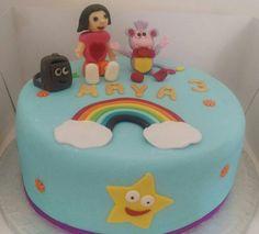 Dora the explorer and friends Birthday cake