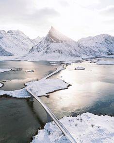 """The gateway to the Lofoten Islands."""