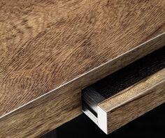 christian liaigre corvette table desk drawer detail