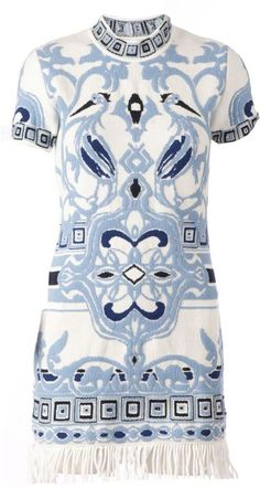 Emilio Pucci tassel shift dress on shopstyle.com