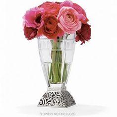 Lacie Daisy Glass Vase $65