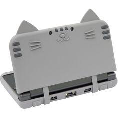 New Nintendo 3DS ll XL Cyber Silicon Case Cover Cat Nyan Neko Nyan DX Saba F S | eBay
