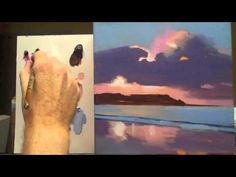 Acrylic Painting Lesson for Beginners Awesome Acrylic Landscape Painting Techniques Lessons for Acrylic Painting Lessons, Acrylic Painting For Beginners, Acrylic Painting Tutorials, Painting Videos, Acrylic Art, Painting & Drawing, Painting Tips, Acrylic Landscape, Spring Landscape