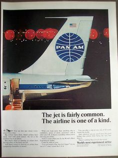 pan am - 60s one of a kind