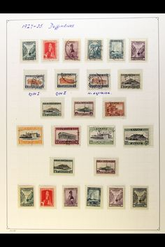 GREECE - 1927-1965 EXTENSIVE COLLECTION An attractive mint/nhm & used…