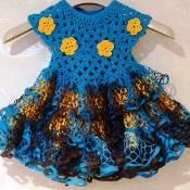 Smmer Flower Dress - via @Craftsy