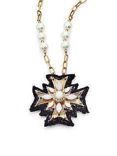 Tory Burch Selma Pendant Necklace