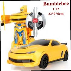 49.59$  Watch now - http://alichj.worldwells.pw/go.php?t=32584336605 - New 1:22 Bumblebee veneno remote control car poison Bee Bumble rc car transformation robot brinquedo juguetes action figure hot 49.59$